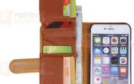 Obal na iPhone 6+ s peněženkou - 3 barvy a poštovné ZDARMA! - 9999921382