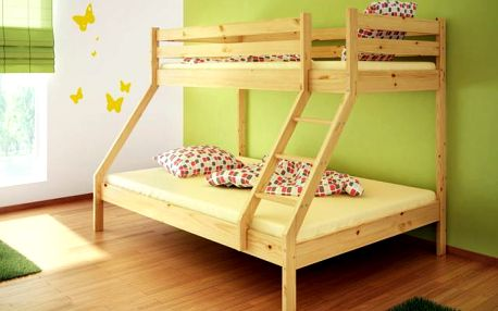 Praktická patrová postel SCONTO MIKE