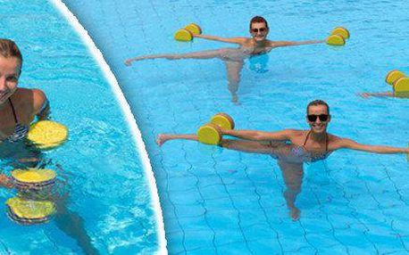 Aqua fitness permanentka na 5 lekcí - Pražačka a Strahov