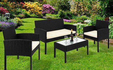 Odolný zahradní ratanový nábytek, který nepromokne!