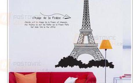 Samolepka Eiffel tower a poštovné ZDARMA! - 9999921414