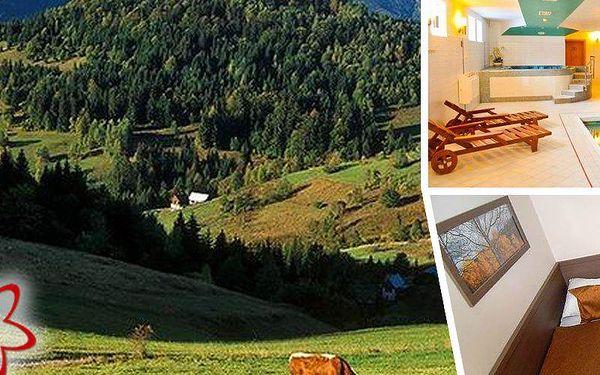 3denní pobyt v luxusních apartmánech v Kysuckých Beskydech, při koupi 2 poukazů další noc zdarma.