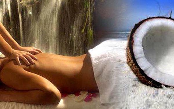 Úžasná kokosová aroma olejová masáž od…