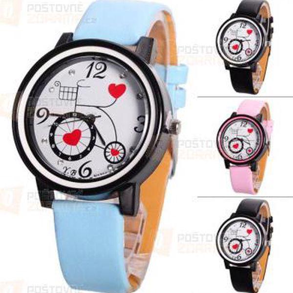 Dívčí originální hodinky - různé barvy a poštovné ZDARMA! - 9999921389