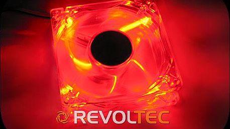 Revoltec 120mm LED - Ultra red - Skladem