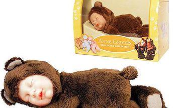 Anne Geddes - Spící medvídek, panenka