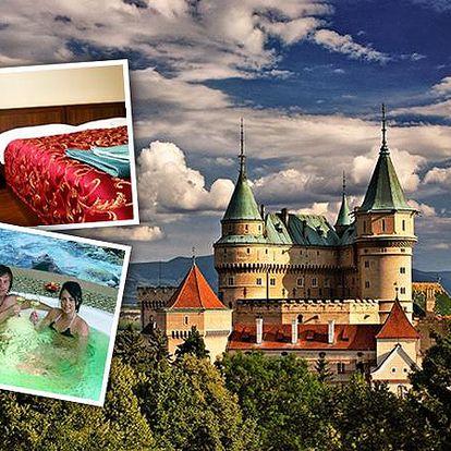 2099 Kč za 3-denní pobyt v termálech Bojnice v 3* hotelu s polopenzí pro dva - Bojnický zámek, termální lázně a největší slovenská ZOO na jednom místě! Nástup kterýkoliv den v týdnu, platnost až do konce léta 2015