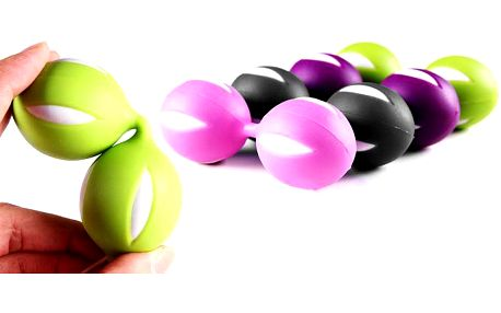 Venušiny kuličky Boobs ve čtyřech barevných provedeních