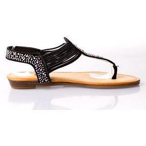 Sandálky s kamínky 6551B Velikost: 38