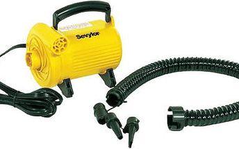 Vysokotlaká elektrická pumpa MP 183 C rychle a spolehlivě nafoukne malé i velké lodě