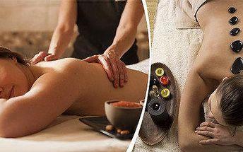 Masáže dle vašeho výběru - relaxační, reflexní, lymfatická