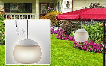 Na zahradu nebo na terasu: Závěsné LED světlo na baterky