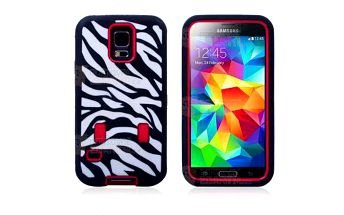 Kryt na Samsung Galaxy S5 vzor zebra a poštovné ZDARMA! - 9999921474