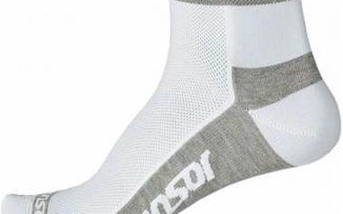 Cyklistické ponožky Sensor RACE LITE RUČIČKY bílá/šedá 3-5