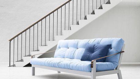 Rozkládací sofa Poetry, celeste/cool grey