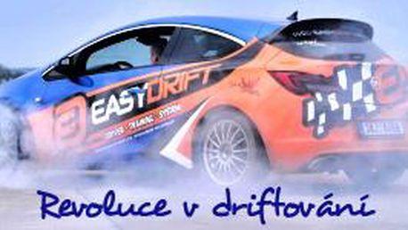 Zadriftuj si s Opel Astra OPC po dobu 30 minut na polygonu - EASYDRIFT