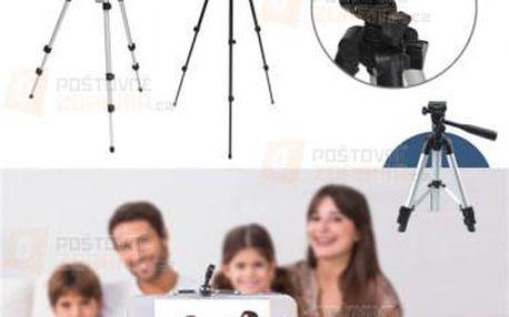 Stativ na fotoaparát nebo kameru - trojnožka a poštovné ZDARMA! - 9999921485
