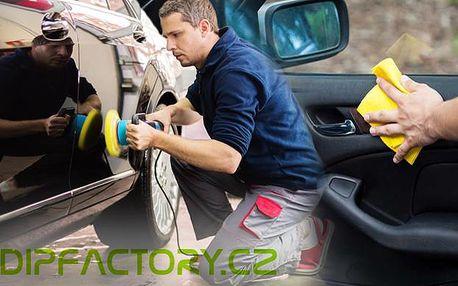 Kompletní čištění s renovací vozu