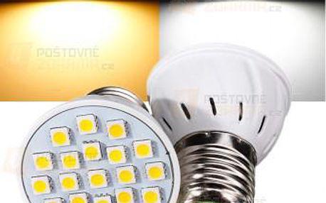 E27 3W 110V - 21 LED diod a poštovné ZDARMA! - 9999921455
