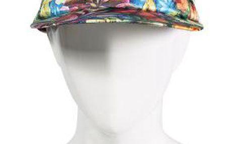 Čepice s kšiltem s květinovým vzorkem z kolekce Pieces