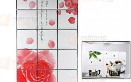 Samolepka do kuchyně - vzor růže a poštovné ZDARMA! - 9999921462