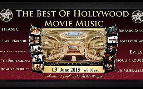Vstupenka na koncert The Best Of Hollywood Movie Music
