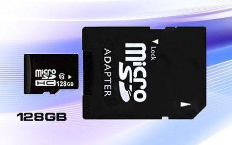 Micro SD HD karta s kapacitou 128 GB jen za 499 Kč