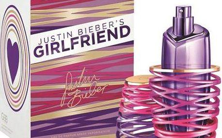 Dámská parfémovaná voda Justin Bieber Girlfriend 100ml