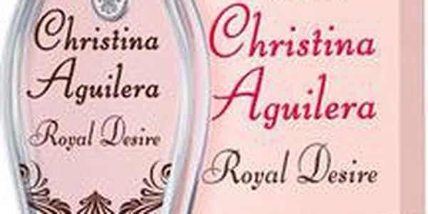 Tester dámské parfémovaná vody Christina Aguilera Royal Desire 50ml