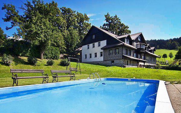 3denní pobyt až pro 4 osoby se saunou, fitness a polopenzí v Rokytnici nad Jizerou