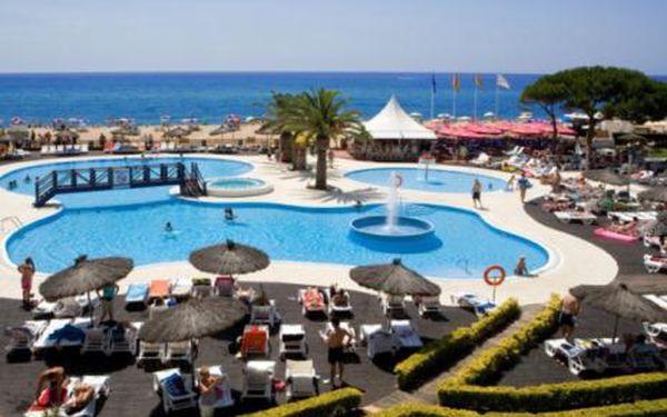 Španělsko, oblast Costa Brava, doprava letecky, snídaně, ubytování v 4* hotelu na 8 dní