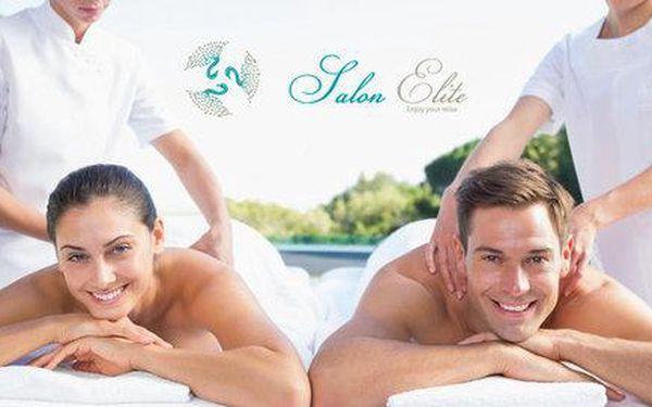 Luxusní masáž s lázní ve VIP…