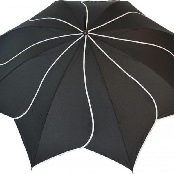 Deštník Classic Swirl, black