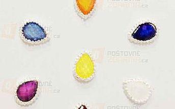 Dekorace na nehty ve tvaru kapky - 10 kusů a poštovné ZDARMA! - 9999921578