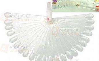 Vzorník na laky na nehty - na 50 barev a poštovné ZDARMA! - 9999921576