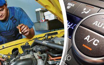 Kompletní vyčištění a naplnění autoklimatizace včetně dezinfekce ozónem!Připravte vůz na léto.