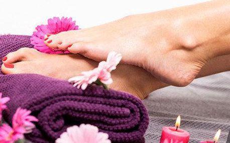 Klasická mokrá pedikúra s relaxační masáží