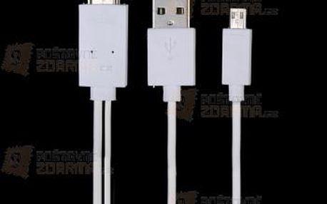 Multifunkční kabel na Samsung Galaxy S5 a poštovné ZDARMA! - 9999921527