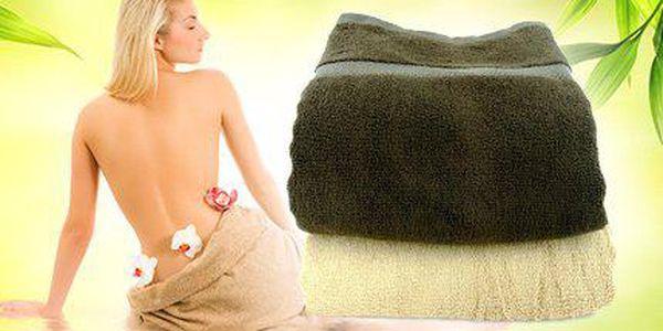 Bambusový ručník a osuška - heboučký a savý materiál a více rozměrů