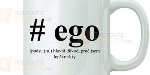 Hrnek - #ego a poštovné ZDARMA! - 9999919603