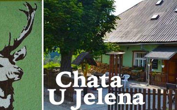 Malebné Jeseníky: 3 nebo 5 dní pro 2 osoby s polopenzí v Chatě U Jelena!