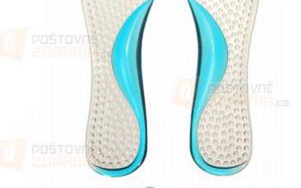 Silikonové masážní vložky do bot a poštovné ZDARMA! - 9999921553