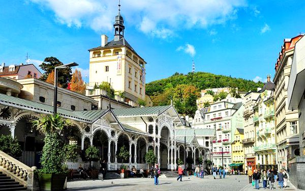 2denní pobyt pro 2 osoby se snídaní v centru Karlových Varů v hotelu Kučera***