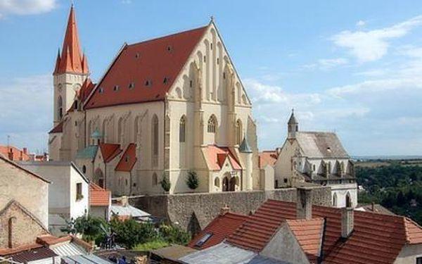Celoroční pobyt ve Znojmě mezi vinicemi jižní Moravy na 3 dny pro DVA