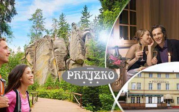 Romantický pobyt pro DVA na 3 až 7 dní s PLNOU PENZÍ, večeří při svíčkách a zmrzlinovým barem na Adršpašsku!