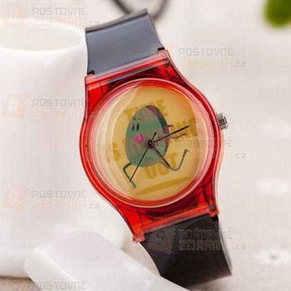 Dětské hodinky s roztomilou bramborou - různé barvy a poštovné ZDARMA! - 9999921530