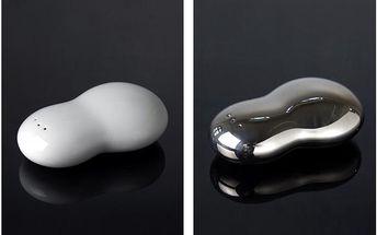 Porcelánové designové sypátko platinum nebo bílé