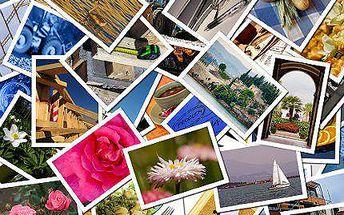 Vyvolání 100 kusů fotek s rozměrem 10×15 cm
