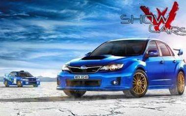 Staňte se na 30 minut řidičem rallye káry. Neskutečný zážitek v Rallye Challenge v Subaru Impreza.
