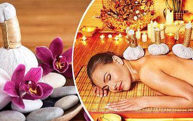 90 minut relaxace a pohody, na výběr dvě varianty masáží